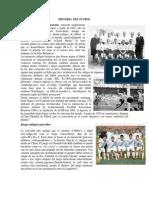 Historia Del Futbol y Elementos Del Futbol