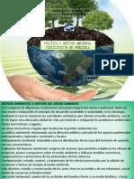 POLITICA Y GESTION AMBIENTAL PARTICIPATIVA EN VENEZUELA