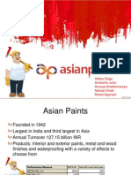 Asian Paints valuation