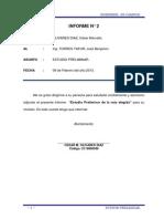 Informe Plano en Planta y Perfil
