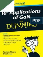 Rf Applications of Gan for Dummies