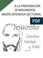 Folleto Guía Preparación Misioneros