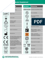 Symbol Explanation Packing