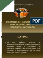 Declaración de contumacia en  la etapa de enjuiciamiento.ppt