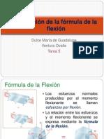 Ventura Dulce- Tarea 5 - Fórmula de La Flexión