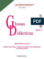 INSERCIÓN LINGÜÍSTICA Y SOCIOCULTURAL DEL ALUMNADO INMIGRANTE. Glosas didácticas 11