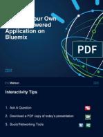Ibm Bluemix 1029 Final v1