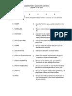 Examenes de Recuperacion de Idioma Español