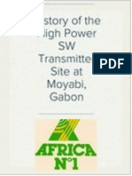 History of the High Power SW Transmitter Site at Moyabi, Gabon