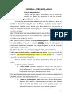 DIREITO ADMINISTRATIVO (2014)