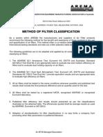 Filter Classification
