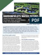 Haddonfields Water Future