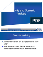 MBA 253 Sensitivity and Scenario Analysis 2012-13