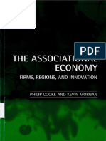 4. COOKE, P. y MORGAN, K. (1998) the Associational Economy. Firms, Regions and Innovation. Oxford University Press, Oxford, (Cap. 8)