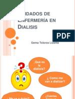 Cuidados de Enfermera en Dialisis