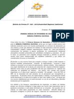 Boletin de Prensa 020 -2014 - Semana Forestal