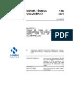 Ntc 3870 Tuberia Fibra de Vidrio