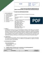 Silabo Emprendedorismo 2014-2