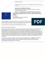 Review of Crowe's _Patriotism and Public Spirit_ (Stanford Univ. Press, 2012)