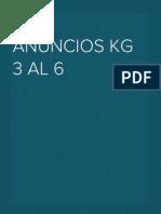 Guía Anuncios Kg 3 Al 6