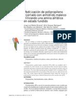 Modificacion de Poliprolileno Injertado Con AM