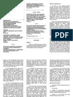 1. Petitioner Organizations vs. Executive Secretary