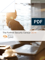 Fortinet Security Census 2014 Report