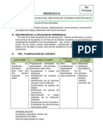 Proyecto Aprendizaje 1 Marzo 2014 6to