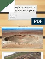 Geología Estructural de los Cráteres de Impacto
