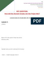 ancient greeks lesson plans