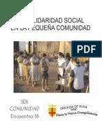 Encuentro 16 La Solidaridad Social en La Pequeña Comunidad Corregido