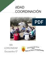 Encuentro 17 Comunidad y Coordinación Corregido