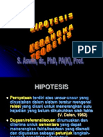 Hipotesis.kerangka Teoretis.2011