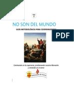 No Son Del Mundo Guia Metodologica