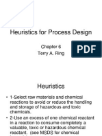 4-L2-Heuristics for Process Design