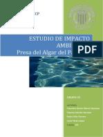 Estudio de Impacto Ambiental Presa de Algar