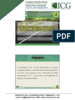 Proyecciones sobre Ingenieria Vial en el colegio de Ingeniero de Perú departamento de ancash provincia de chimbote