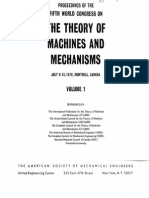 Proceedings of the Fifth World Congress on the Theory of Machines and Mechanisms