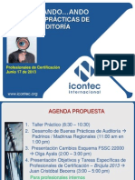 Buenas Prácticas Auditoría Jun 2013