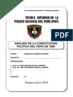 Análisis de La Constitución Política Del Perú de 1993