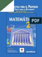 2º Medio - Matemática - Editorial Cal y Canto - Guía Didáctica Para El Profesor