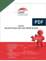 Silabo 2014 II Investigación de Mercados