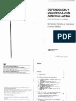 Cardoso Fernando Henrique and Enzo Faletto. Dependencia Y Desarrollo en América Latina