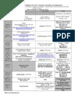 160 Syllabus Part Two Schedule Ver 1(2) (1)