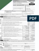ETS Form 990, 2012