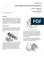 Direct Gear Design® for Automotive Applications