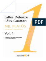Mil Platos Vol 1Gilles Deleuze Felix Guattari