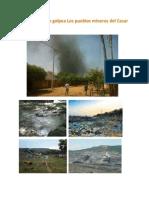 Contaminación Golpea Los Pueblos Mineros Del Cesar