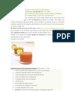 Receta Gaspacho