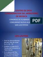 Los Levitas de Dios Consagracion Del Ministerio De